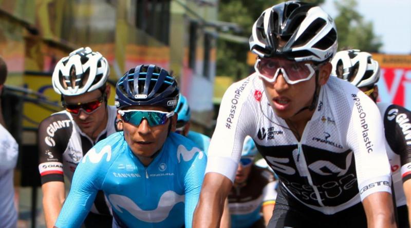 Tour de Francia 2019. EGAN BERNAL va por la gloria, ya es 2o. a 1´30″ de la camiseta amarilla y NAIRO QUINTANA  7o. seguirá subiendo por el podio… Urán 9o.