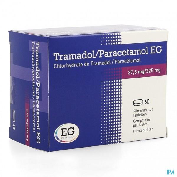 TRAMADOL PARACETAMOL EG 375MG/325MG FILMOM TAB 60 ...