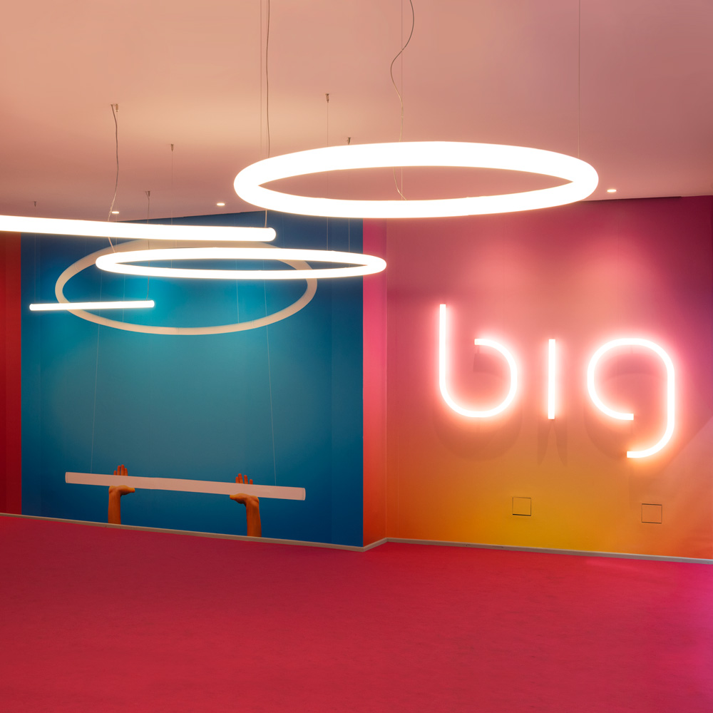 ALPHABET OF LIGHT Wall  Inspiration materials and technologies  Artemide North America