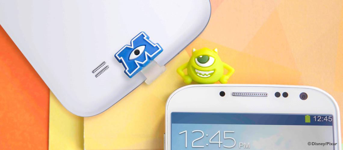 毛怪耳機塞 & Micro USB防塵塞組 - 防塵塞 - 行動配件 - 商品分類 - Bone Shop (臺灣)