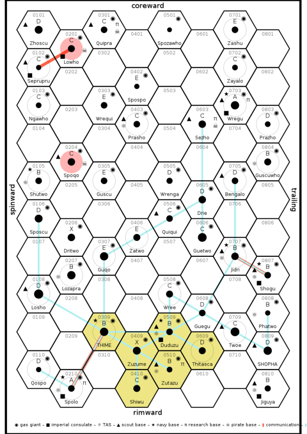 Traveller Subsector Map Generator   Viewsummer co