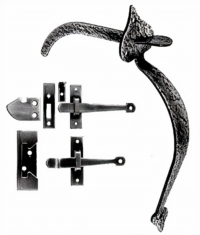 Acorn RUEBR Rim Latch for Interior and Light Exterior