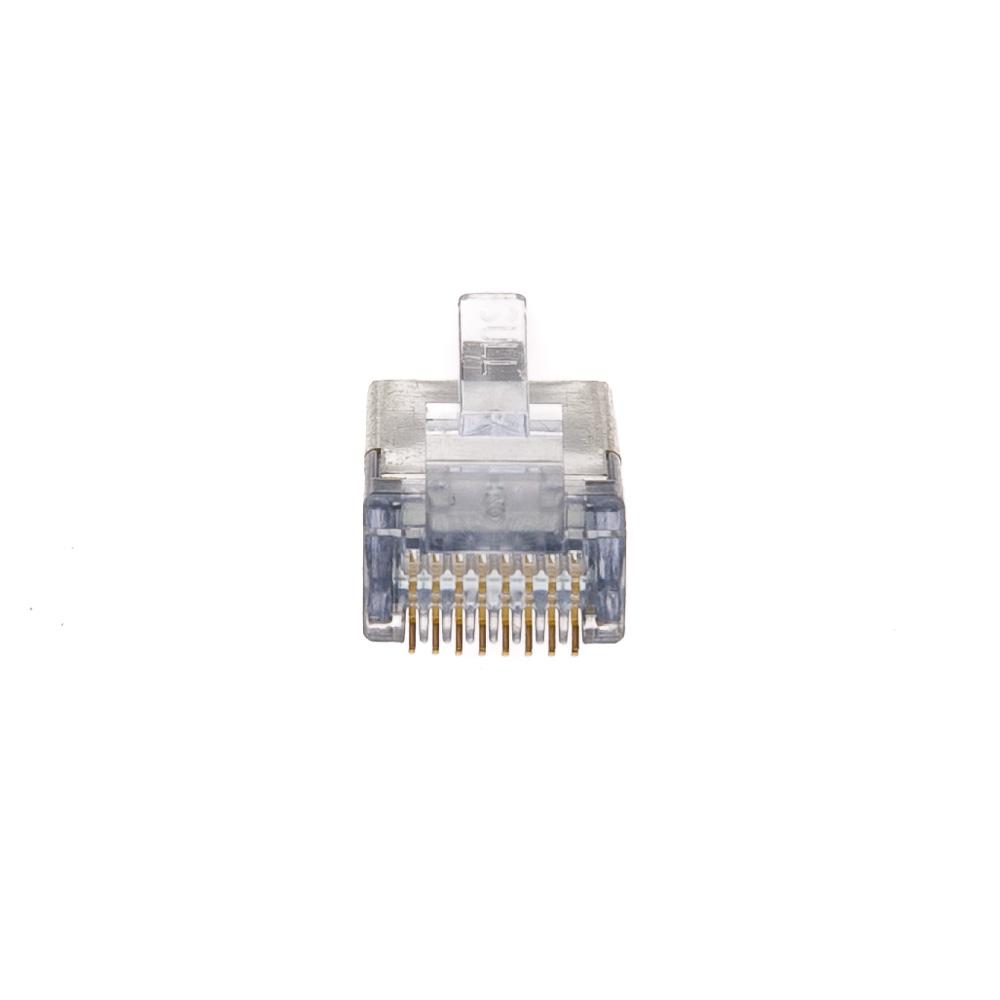 medium resolution of  platinum tools ez rj45 shielded cat6 crimp plugs cat5e compatible internal ground