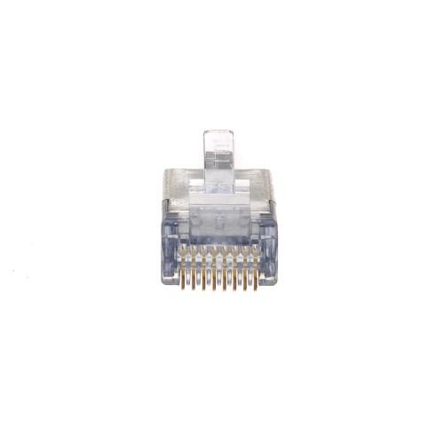 small resolution of  platinum tools ez rj45 shielded cat6 crimp plugs cat5e compatible internal ground