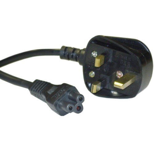 small resolution of england uk notebook laptop power cord with fuse bs 1363 to c5