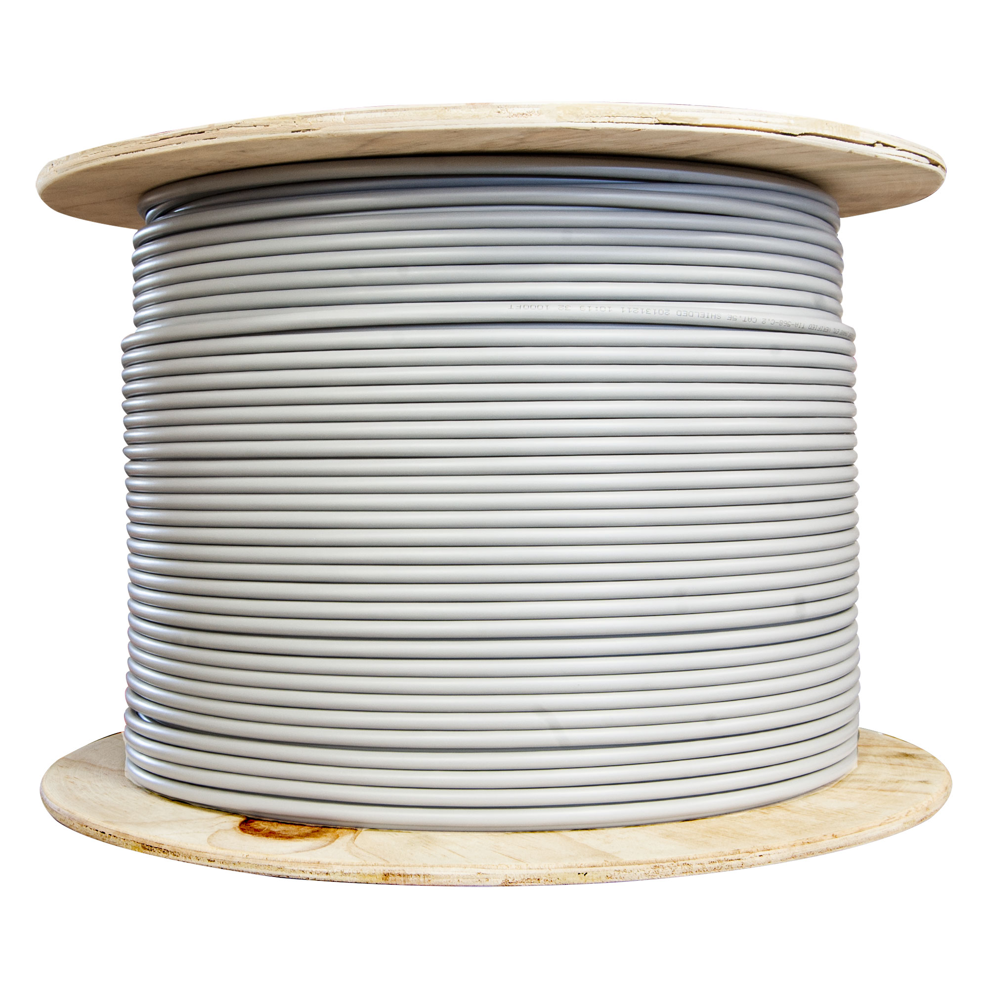 hight resolution of bulk shielded cat6 gray ethernet cable solid spool 1000 foot part number