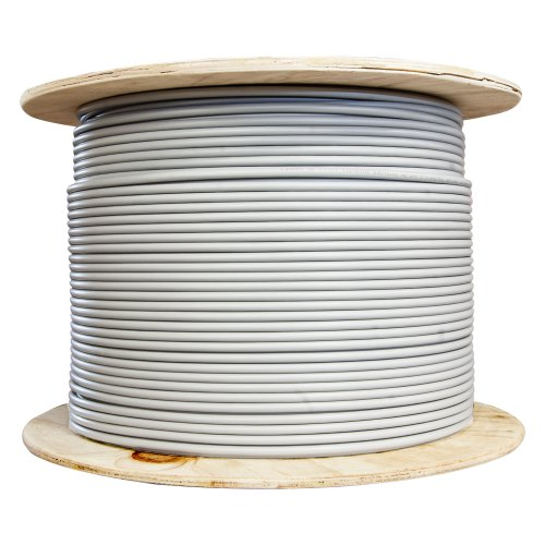 small resolution of bulk shielded cat6 gray ethernet cable solid spool 1000 foot part number