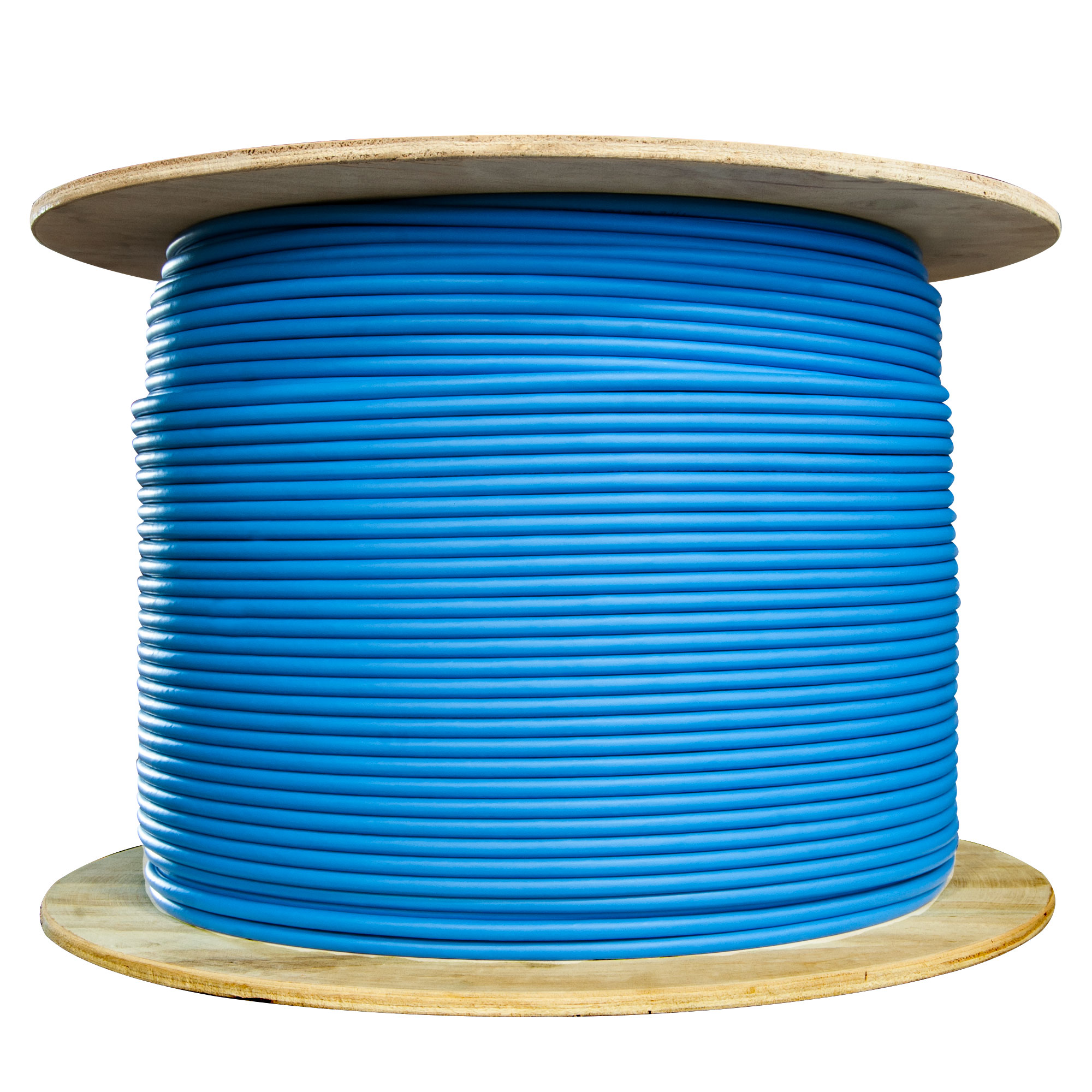 hight resolution of  bulk shielded cat6 blue ethernet cable solid spool 1000 foot part number