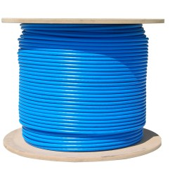 bulk cat6a blue ethernet cable 10 gig solid utp unshielded twisted pair  [ 1584 x 1584 Pixel ]