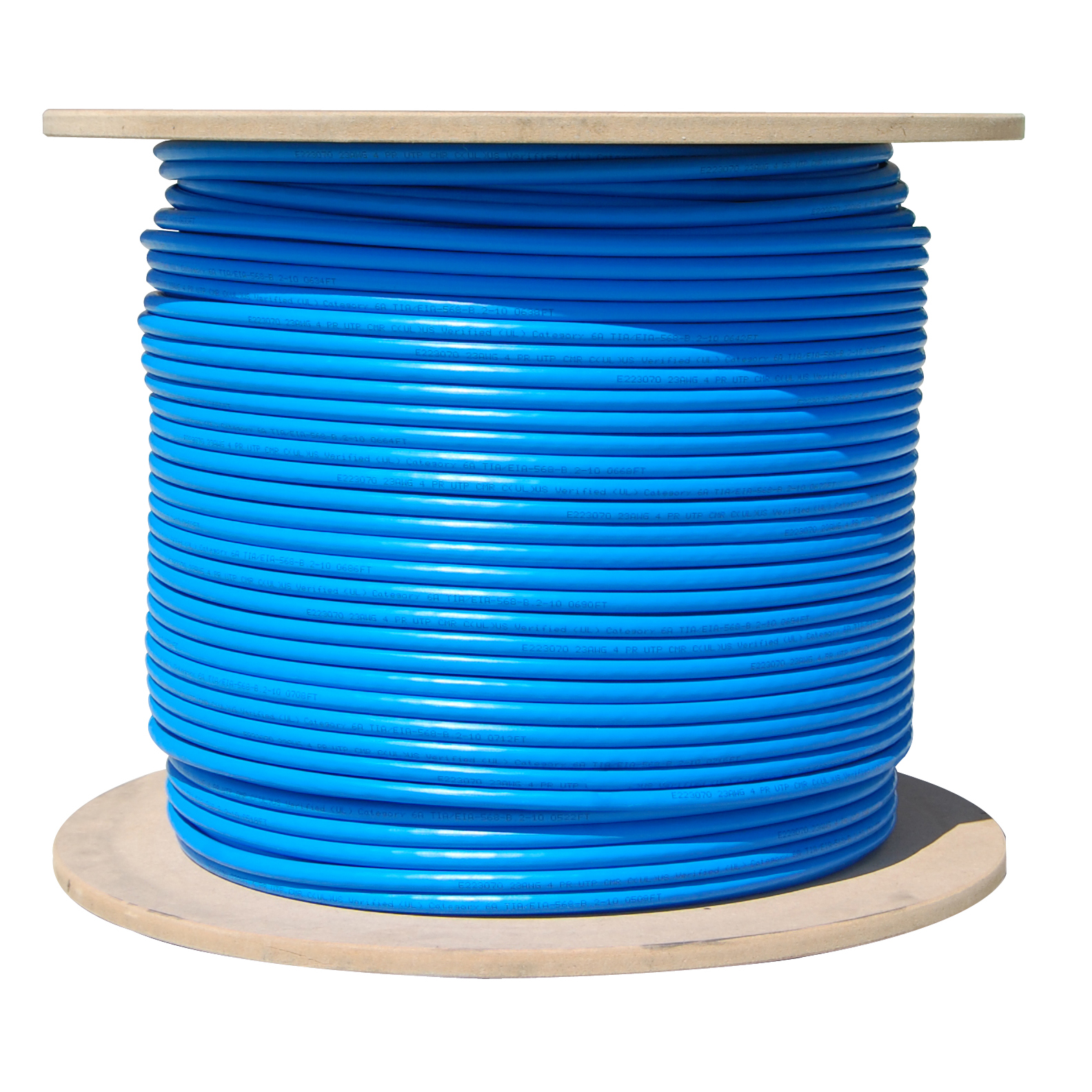 hight resolution of bulk cat6a blue ethernet cable 10 gig solid utp unshielded twisted pair