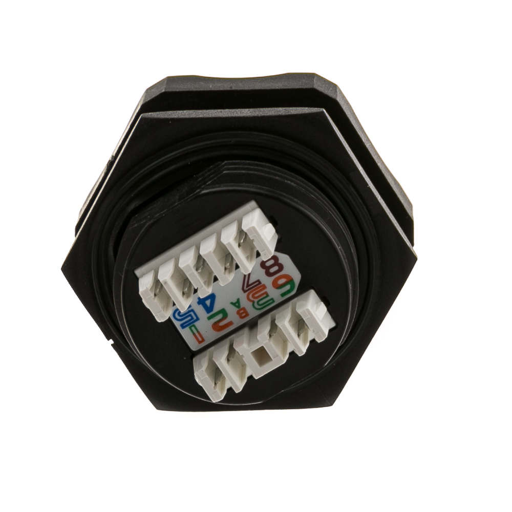 Cat6 STP Shielded Outdoor RJ45 to 110 Jack