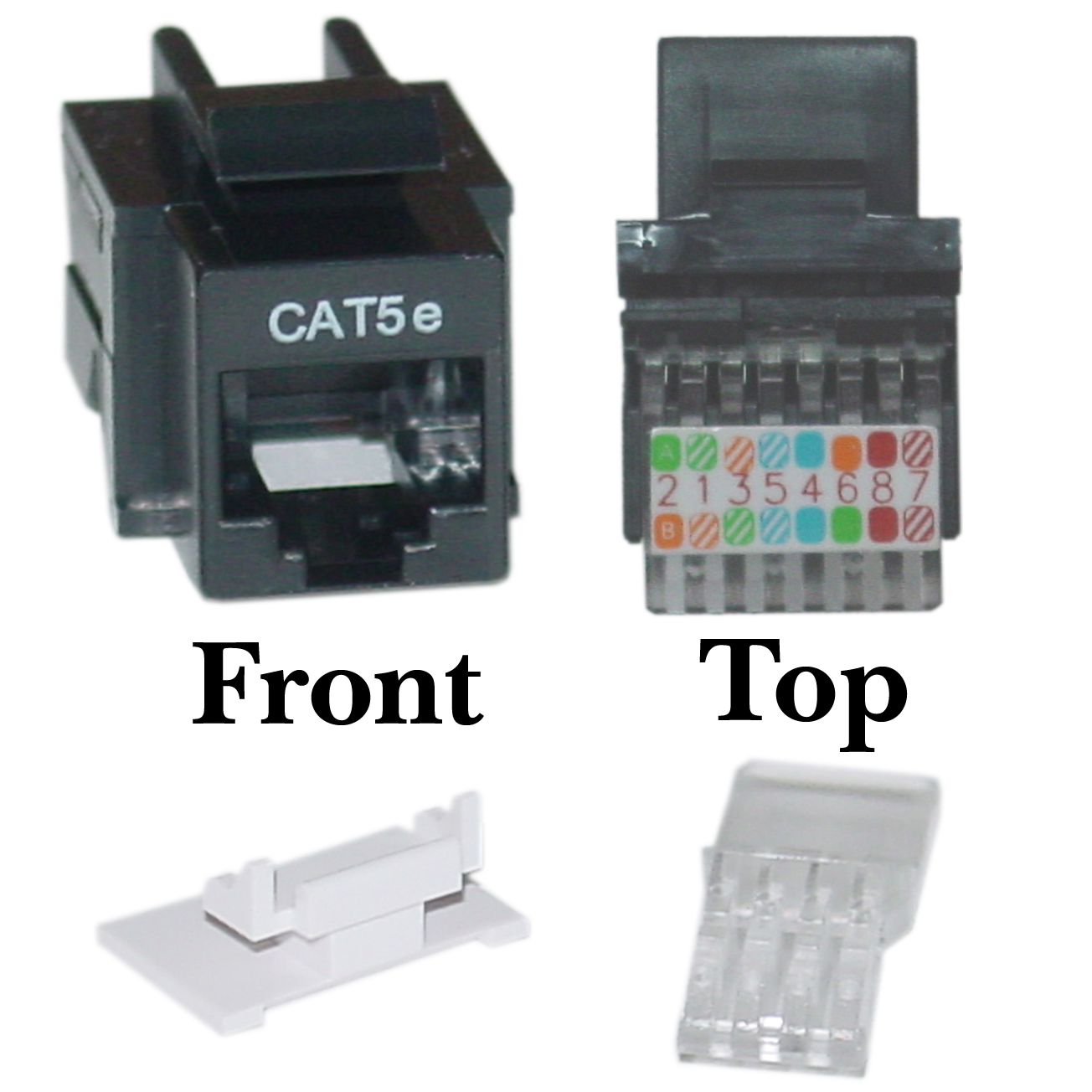 hight resolution of cat5e numbering