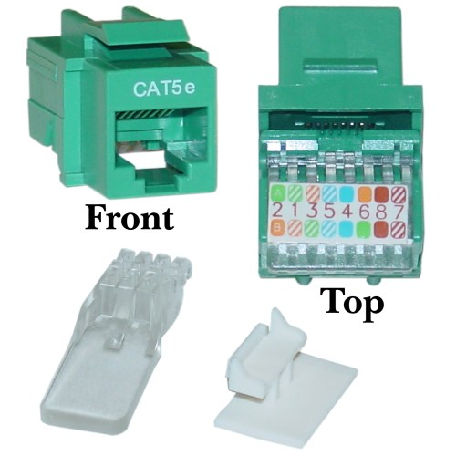 small resolution of green cat5e rj45 keystone jack toolless rj45 pinout for cat5e wiring diagram rj45 keystone wiring diagram