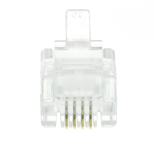 small resolution of  phone data rj11 crimp connectors for stranded wire 6p4c 50 pieces part
