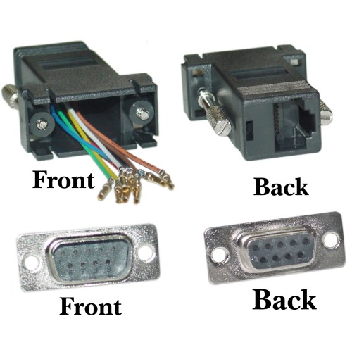 small resolution of female db9 to rj45 wiring diagram images gallery