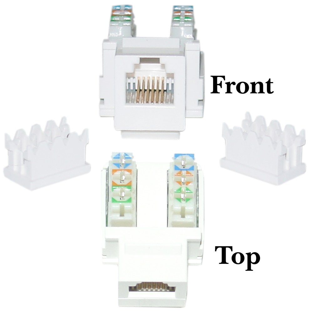 medium resolution of rj11 punch down diagram wiring diagram writephone data jack keystone rj11 rj12 female to 110 rj11