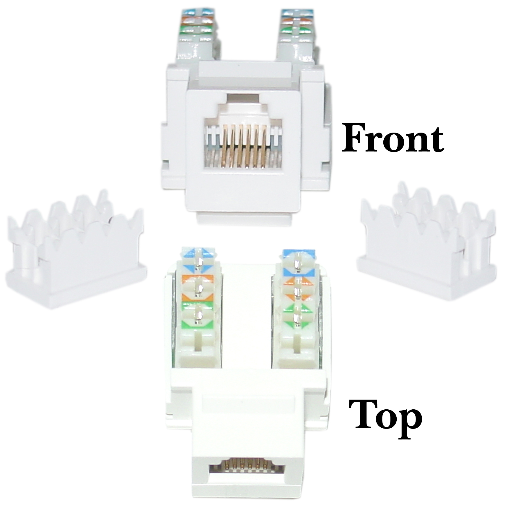 hight resolution of rj11 punch down diagram wiring diagram writephone data jack keystone rj11 rj12 female to 110 rj11