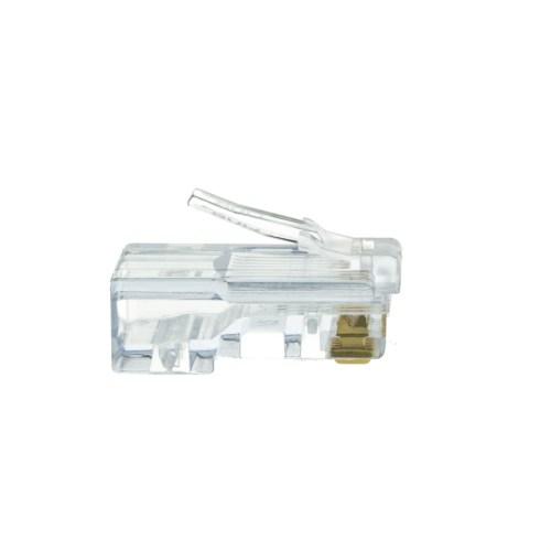 small resolution of platinum tools ez rj45 cat5e crimp plugs slide through wires 100 pieces jar