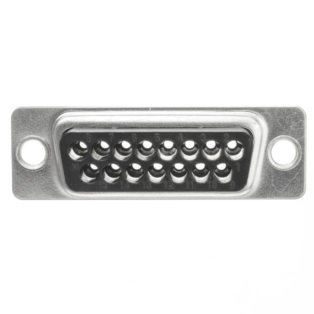 hight resolution of  db15 male mac joystick crimp housing part number 3309 015m