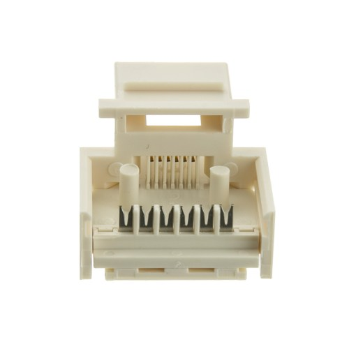 small resolution of  keystone insert white phone jack tooless rj11 rj12 female to wire