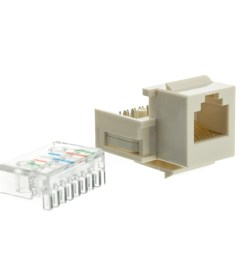 white phone jack keystone rj11 rj12 to wire insert rj11 cable wiring diagram rj11 color code [ 1000 x 1000 Pixel ]