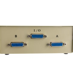 apple mac ab 2 way switch box db15 female part number 40d2  [ 1000 x 1000 Pixel ]