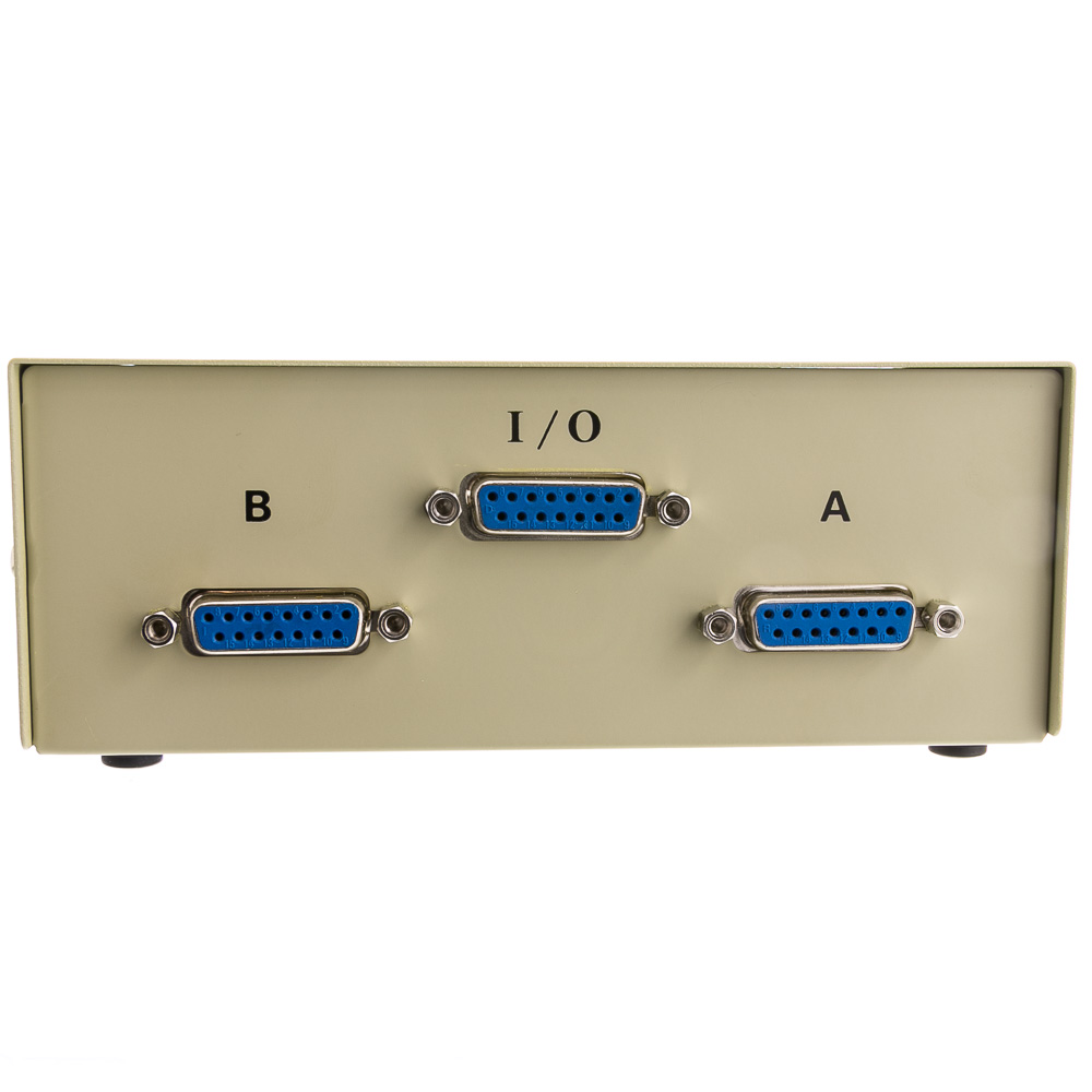 hight resolution of  apple mac ab 2 way switch box db15 female part number 40d2