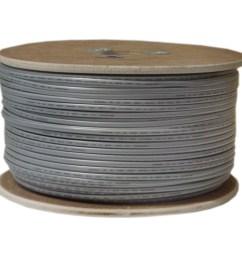 bulk phone cord silver satin 26 4 26 awg 4 conductor  [ 1413 x 1413 Pixel ]