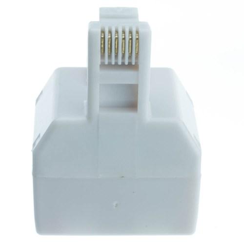 small resolution of  phone splitter straight rj11 rj12 male to two rj11 rj12 female