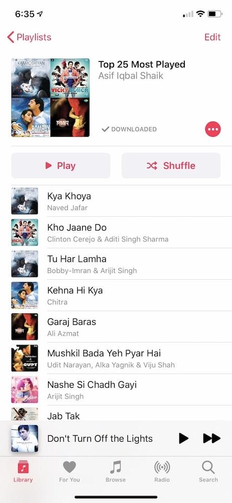 如何在Apple Music中查找最流行的歌曲