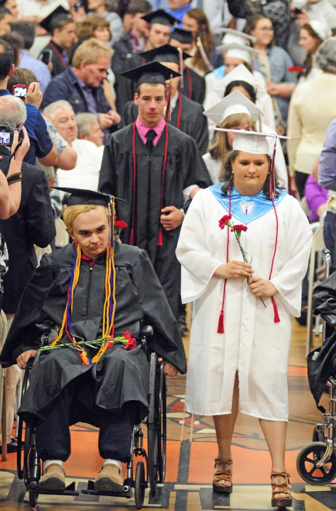 HallDale High School graduates 68 in Saturday ceremony  Central Maine