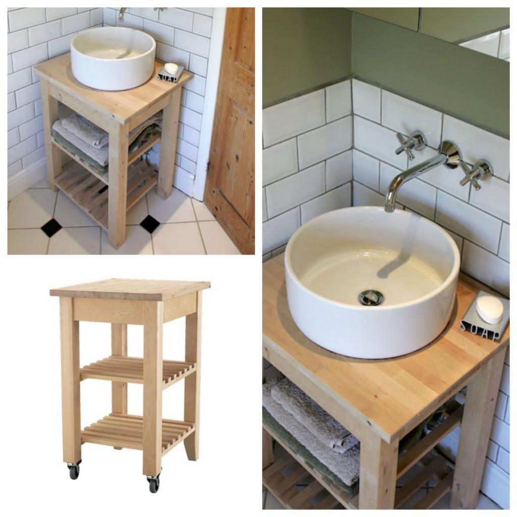 une salle de bain ikea hacks clem