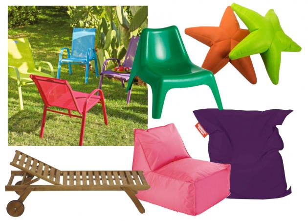 salon de jardin pour enfant et mobilier