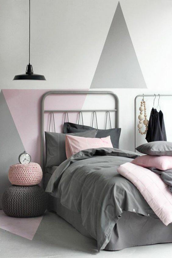 creer une tete de lit en peinture 20