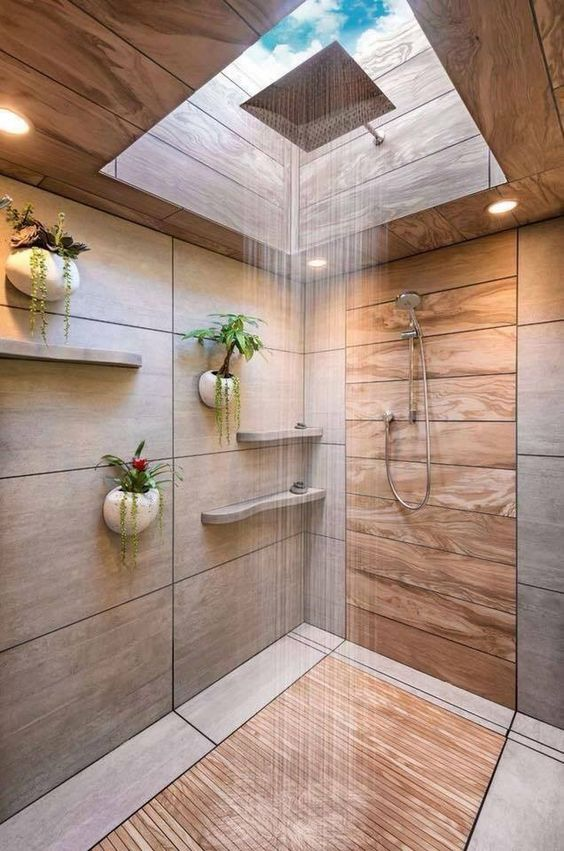 salle de bain theme nature 20 idees