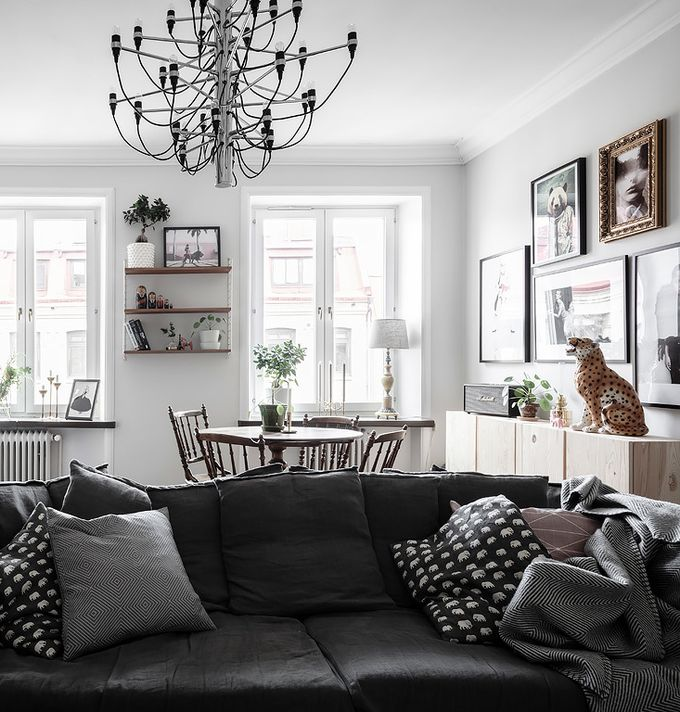 deco en noir et blanc blog deco clem around the corner