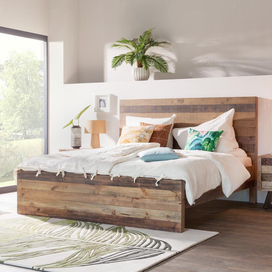 de lit en bois flotte massif ou diy