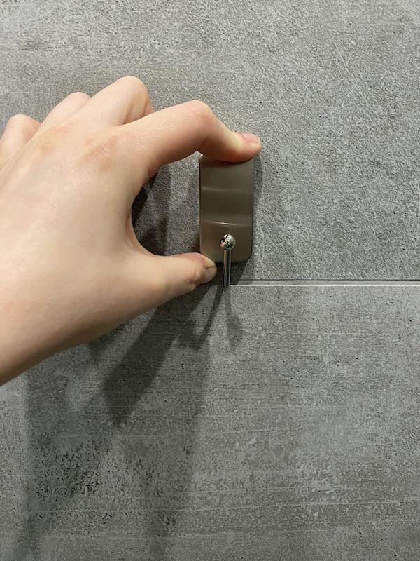 salle de bain sans percer