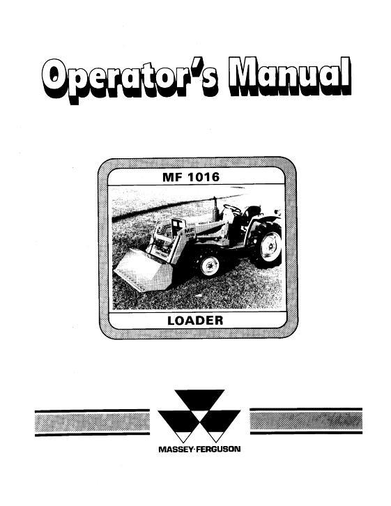 AGCO Technical Publications: Massey Ferguson Material