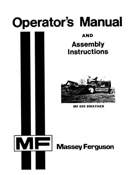 AGCO Technical Publications: Massey Ferguson Harvesting