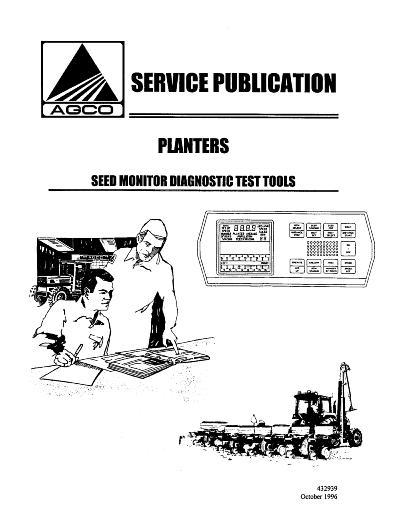 AGCO Technical Publications: White Planter Miscellaneous