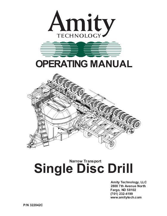 AGCO Technical Publications: Amity Seeding-Grain Drills