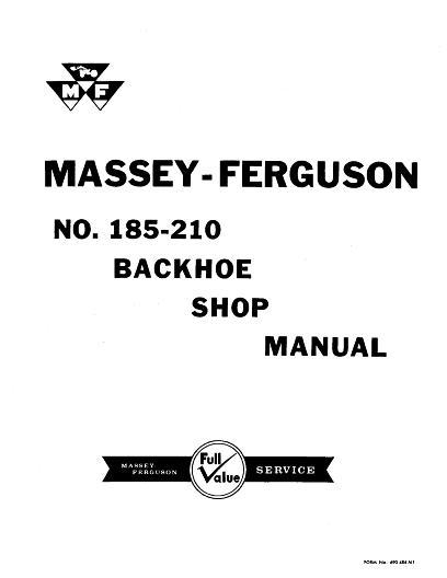 AGCO Technical Publications: Massey Ferguson Davis Grounds