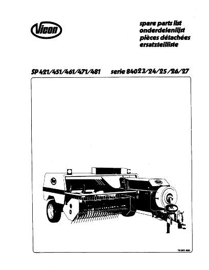 AGCO Technical Publications: Portage Hay Equipment