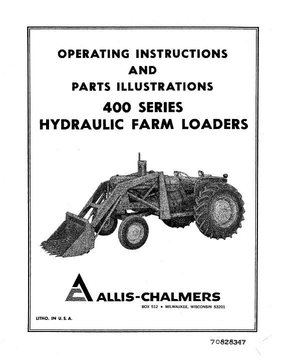 AGCO Technical Publications: Allis Chalmers Material
