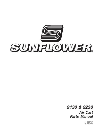 AGCO Technical Publications: Sunflower Seeding-Grain
