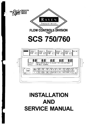 AGCO Technical Publications: SCS 750 / 760 MONITOR