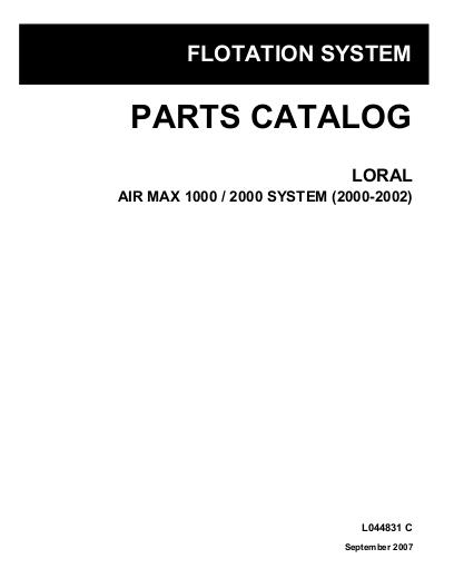 AGCO Technical Publications: Loral Applicators-Dry