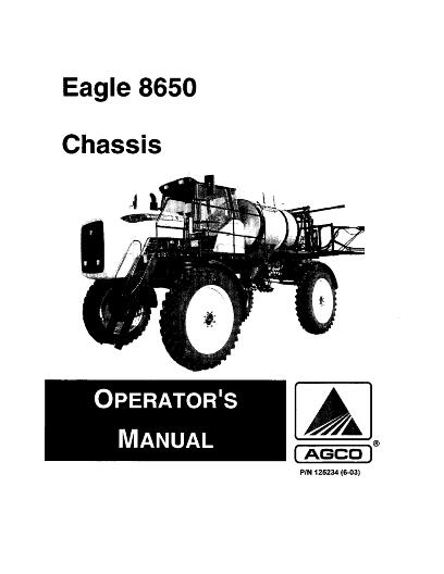AGCO Technical Publications: Willmar Applicators Row Crop