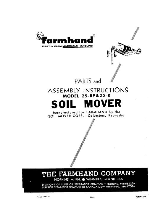 AGCO Technical Publications: Farmhand Miscellaneous